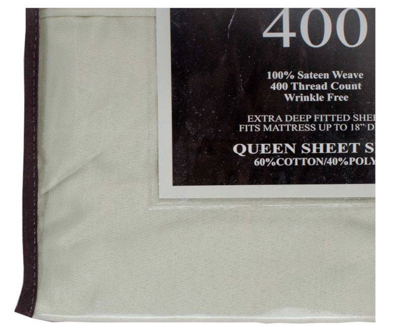 Home Collection 400 Thread Count Queen 4 Piece Bed Sheet Set Mint