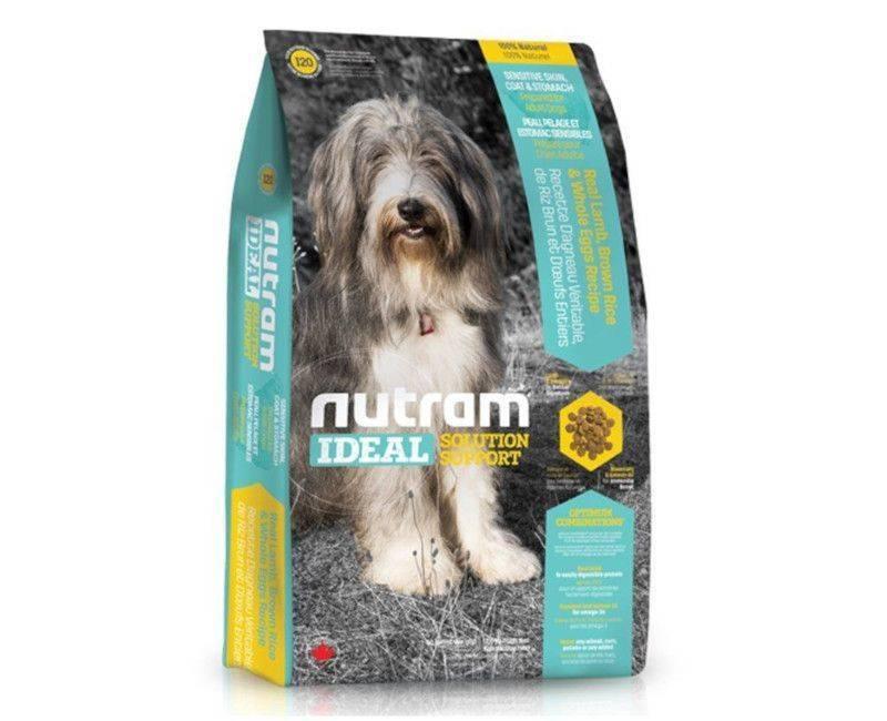I20 Nutram 13.6kg Ideal Solution Support Sensitive Skin Coat & Stomach Natural Dog Food