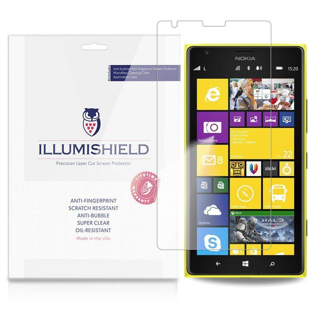 iLLumiShield Nokia Lumia 1520 Screen Protector Japanese Ultra Clear HD with Anti-Bubble and Anti-Fingerprint