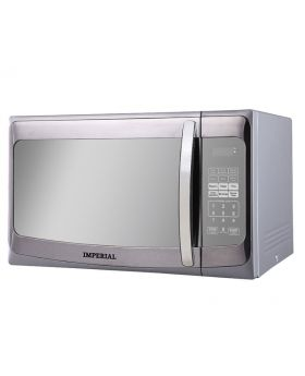 Imperial 1.1 Cu.Ft. 1000 Watts Fast Heating Mirror Steel Microwave