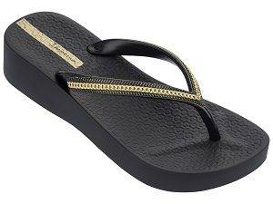 Ipanema Mesh III Platform Black Sandals for Women