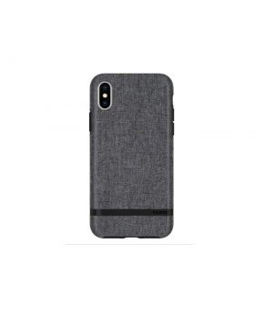 "iPhone X/XS (5.8"") by Incipio Esquire Series with Soft Premium Fabric - Gray Case"