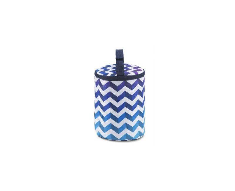 Jansport - Collapsible Cooler Lunch Bag (Shadowed Chevron)