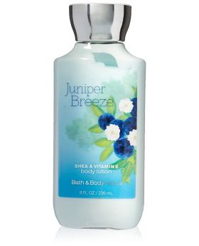 Bath & Body Works Bath & Body Works Juniper Breeze Shea & Vitamin E Body Lotion, 8 Ounce