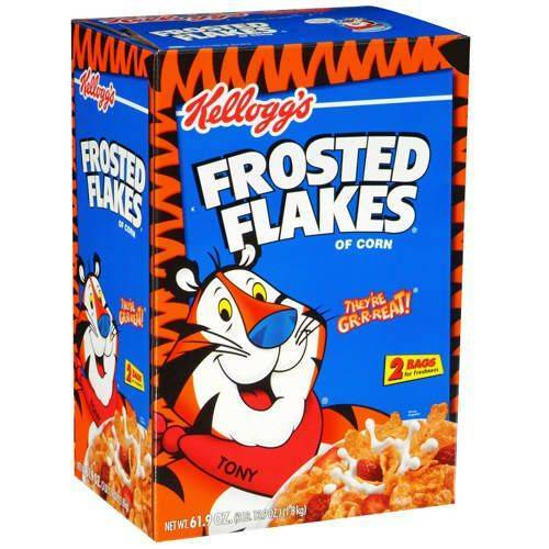 Kellogg's Frosted Flakes 61.9 Ounce Box
