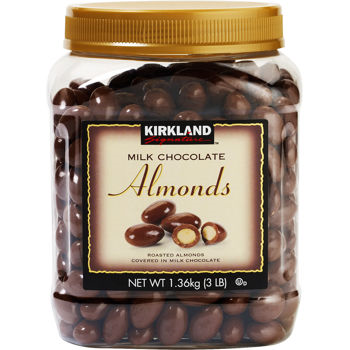 Kirkland Signature Milk Chocolate Almonds 48oz