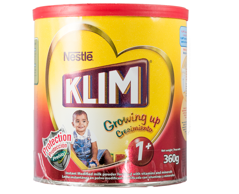 KLIM PREBIO1 1+ (1-3 years old) Growing Up Milk 360g Canister