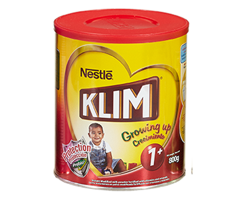 KLIM PREBIO1 1+ (1-3 years old) Growing Up Milk 800g Canister