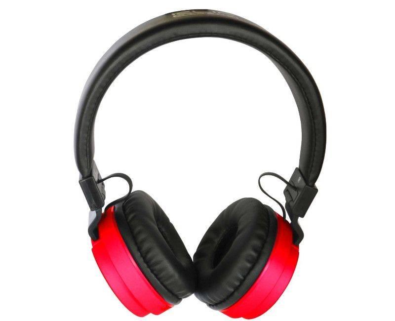 Klip Xtreme Fury Stereo Red Bluetooth Wireless Headphones