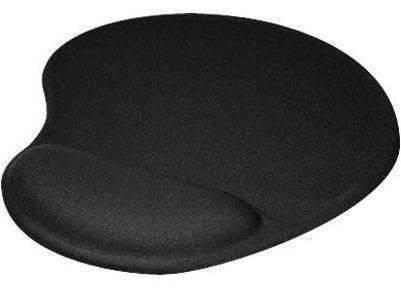 KlipX Gel Mouse Pad Black (KMP-100B)