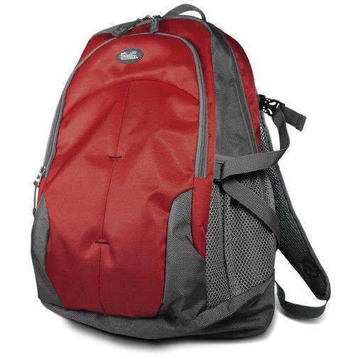 """KlipX Notebook Backpack 15.6"""" KNB-425RD Red"""