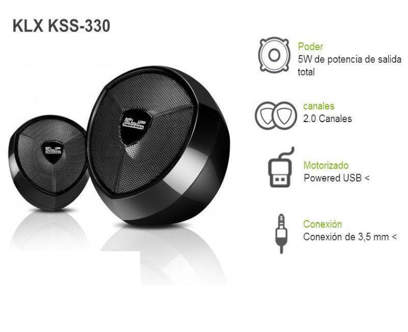 Klip Xtreme KSS-330 PC Speakers