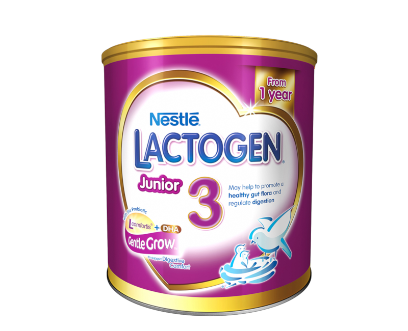 LACTOGEN 3 Junior Gentle Grow Growing Up Milk for Toddlers 800g Canister