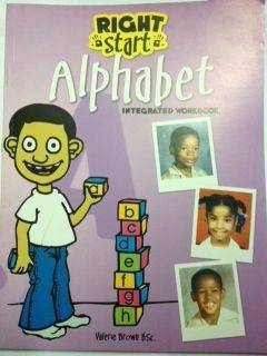 Right Start Alphabet Integrated Workbook