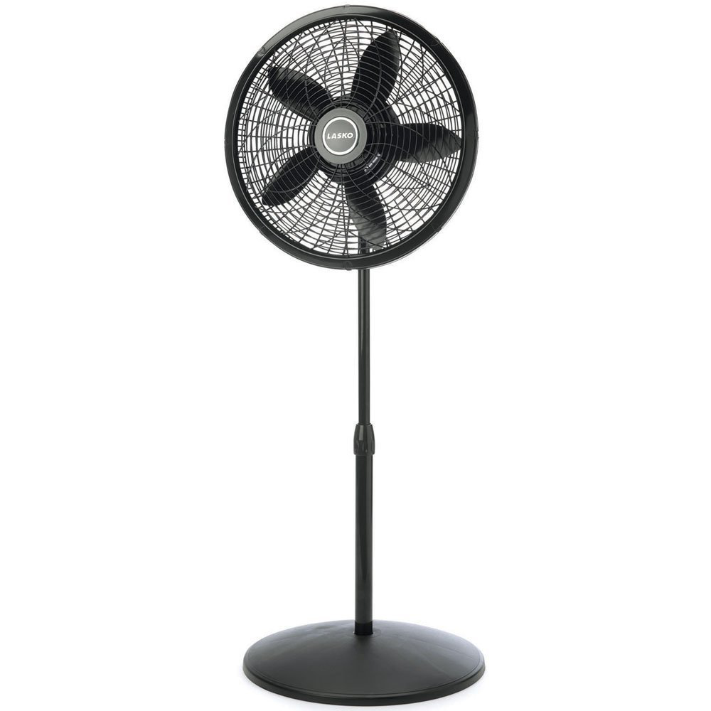 "Lasko 18"" Adjustable Elegance & Performance Pedestal Fan"