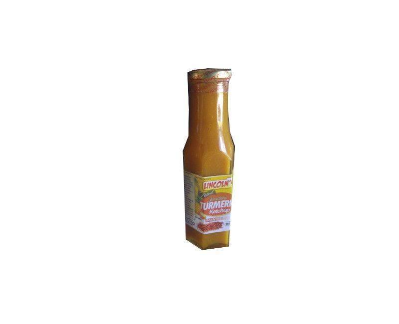 Lincoln's Turmeric Natural ketchup