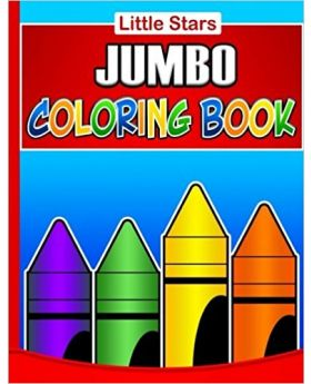 Little Star Jumbo Colouring Book