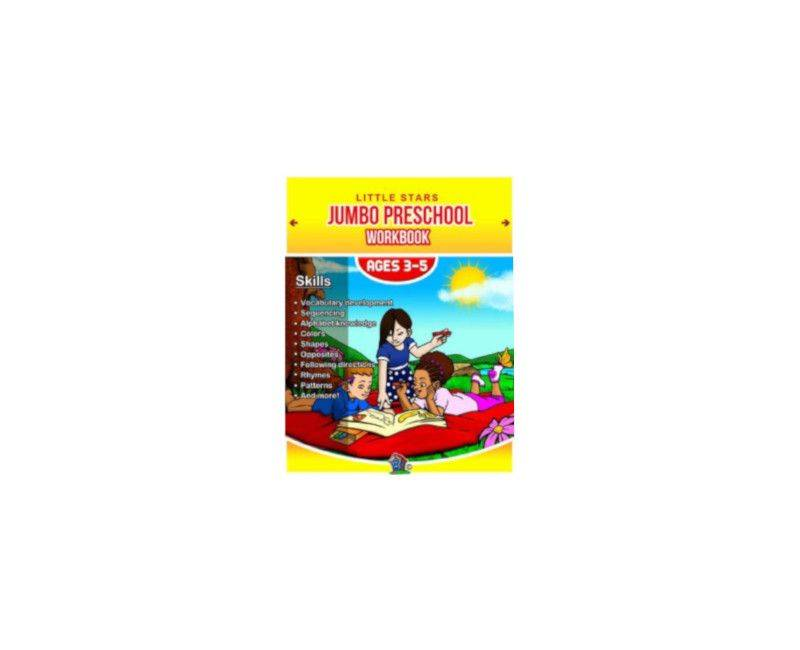 Little Star Jumbo Pre-School Workbook- Age 3