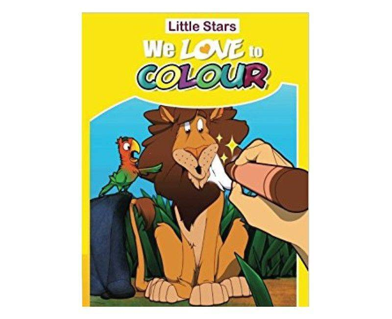 Little Stars We Love to Colour