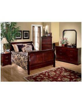 Louis Mary 6 Piece Queen Bedroom Set