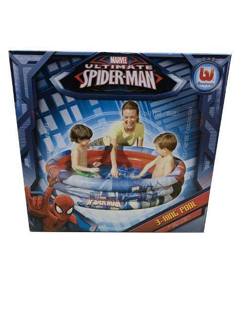 Marvel Ultimate Spider-Man 3-Ring Pool 1.22m x H 30 cm