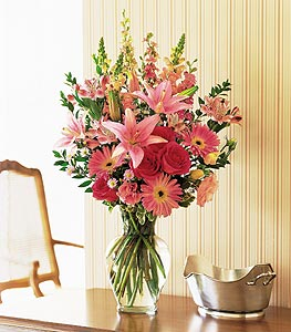 Marvelous Pinks Floral Arrangement