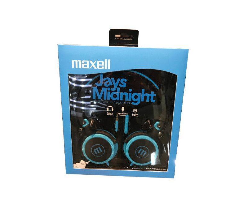 Maxell Jays Midnight audio headphones