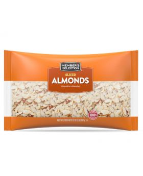Member's Selection Sliced Almonds 32 oz