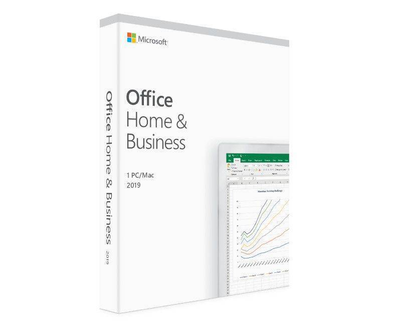 Microsoft Office Home and Business 2019 - License - 1 PC/Mac