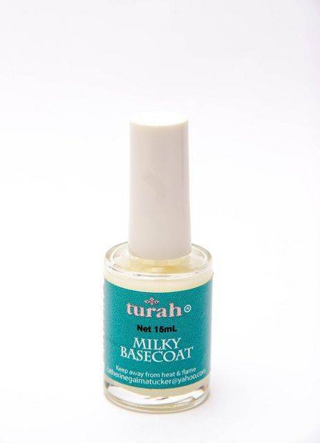 Milky Base Coat Salon Size 75mL / 2.5oz