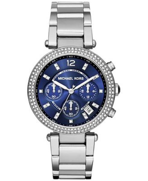 Michael-Kors-Women's-Parker-Stainless-Steel-Watch