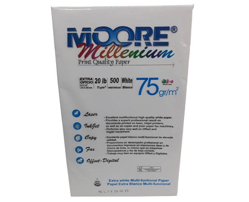 Moore Millenium Legal Size Copy Paper