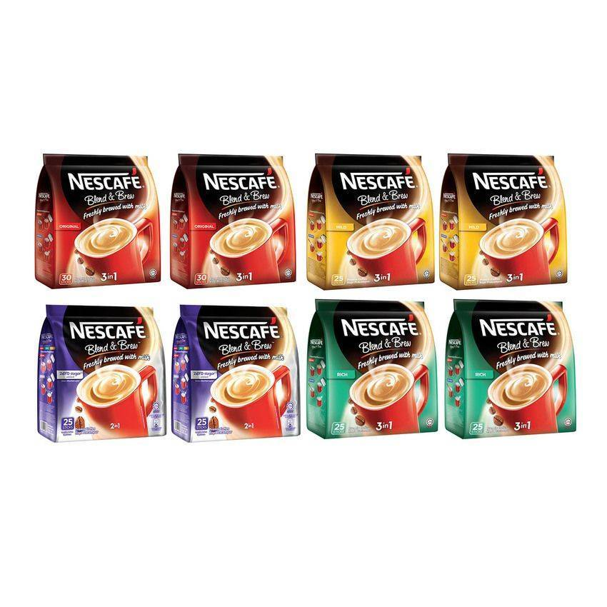 Nescafe Assorted Flavor Coffee