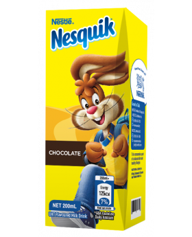 NESQUIK Chocolate Flavoured Ready to Drink 200ml Carton