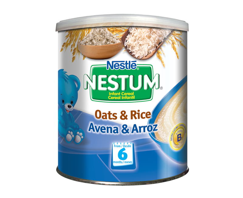 NESTUM BIFIDUS BL Infant Cereal Stage 1 (From 6 months) Oats 270g Canister