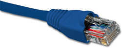 Nexxt Patch Cord Cat5e 3 Feet Blue