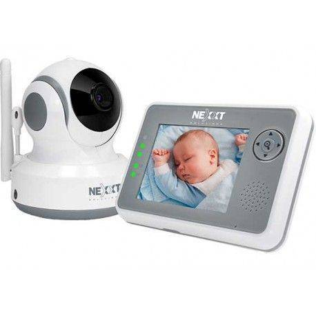 Nexxt Solutions Pan Tilt Zoom Baby Monitor