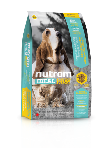 I18 Nutram Ideal Solution Support Weight Control Natural Dog Food