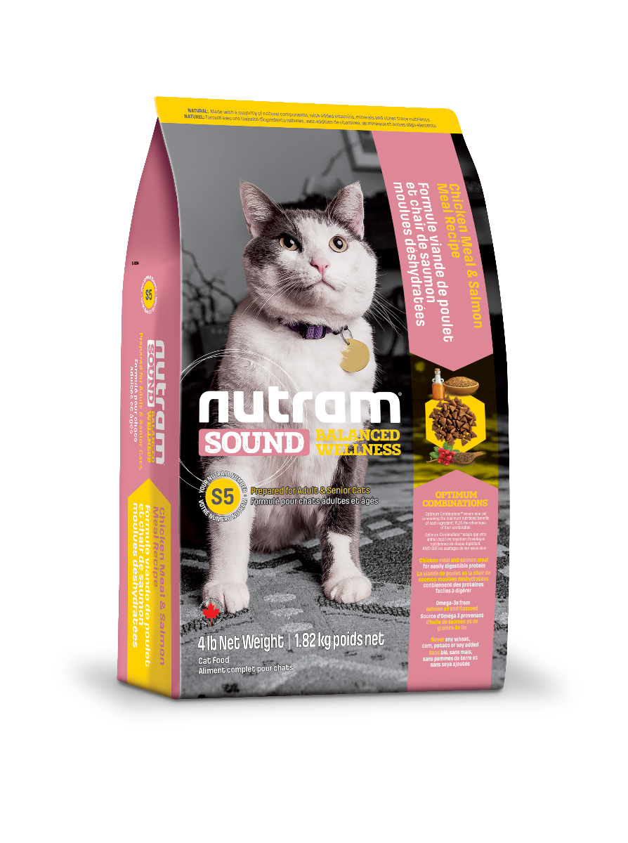 Nutram S5 Adult Senior Cat 1.8kg