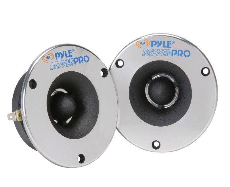 Pyle Aluminum Bullet Titanium Horn Tweeter