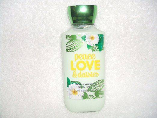 Bath and Body Works Peace Love & Daisies Body Lotion