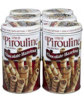 Pirouline Chocolate Hazelnut Artisan Rolled Wafers