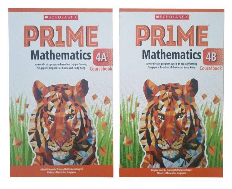 Scholastic Prime Math Coursebook 4A & 4B