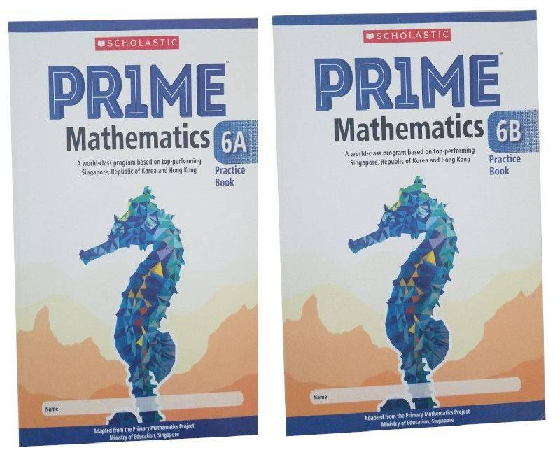 Scholastic Prime Math Practicebook 6A & 6B