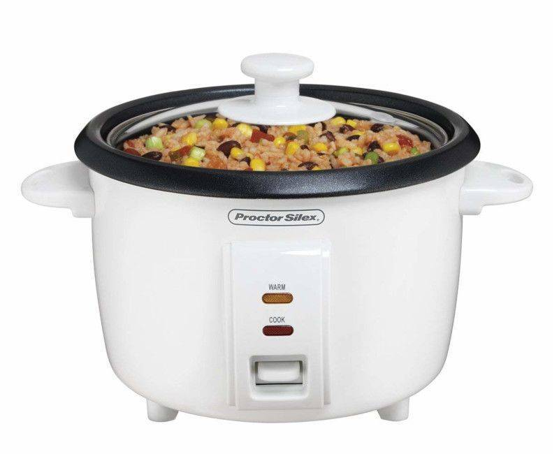 Proctor Silex White 10-Cups Rice Cooker