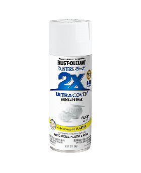 2X Ultra Cover Gloss Spray Paint 12 oz. White (3 Pack)