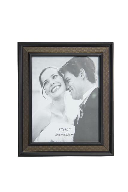 Front-view-of-Rainbow-8x10-Plastic-Wood-Finish-Photo-Frame