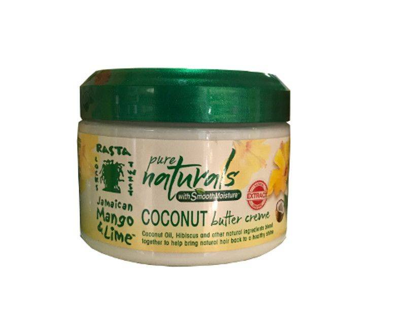 Rasta Locks Twist Jamaican Mango & Lime Pure Naturals Coconut Butter Creme 12oz