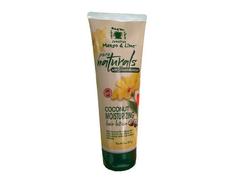 Rasta Locks Jamaican Mango & Lime Coconut Moisturizing Hair Lotion 8 Oz.