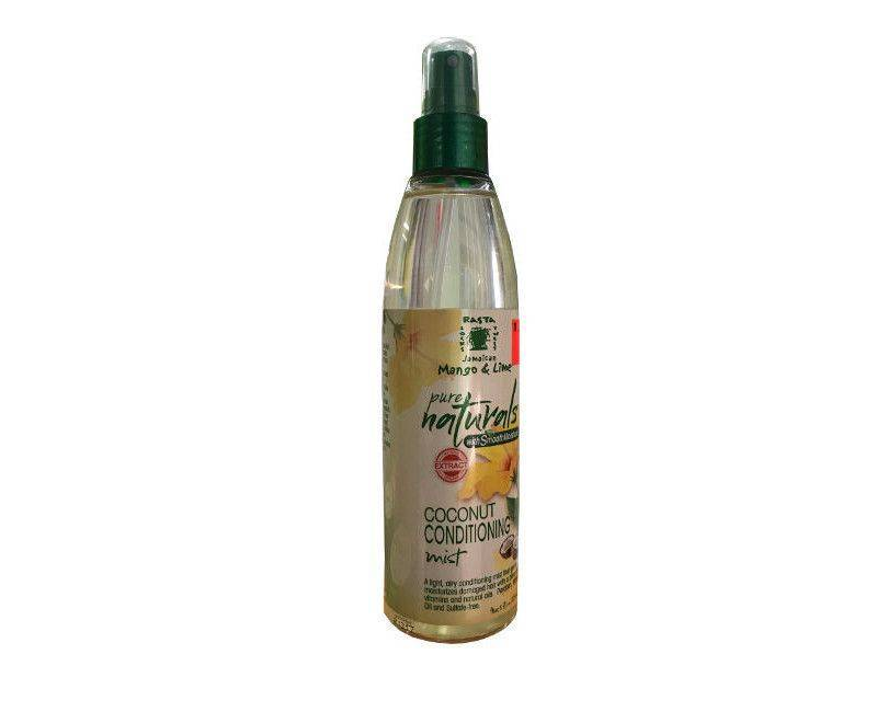 Rasta Locks Pure Naturals Coconut Conditioning Mist 8 Fl. Oz.